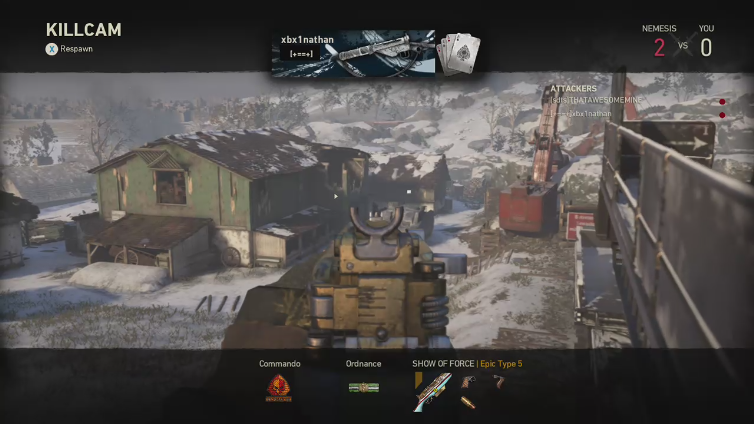xxHail x playing Call of Duty: WWII