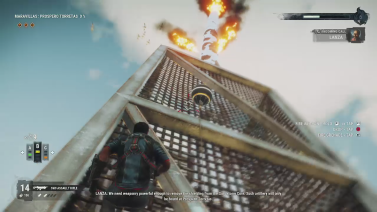 Jackozzy 10 playing Just Cause 4