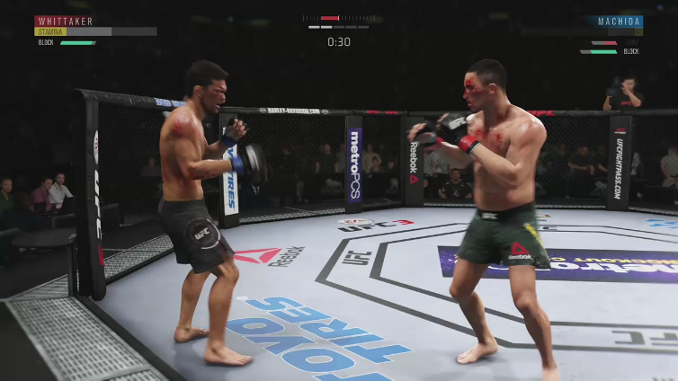 Bodycount playing EA SPORTS UFC 3